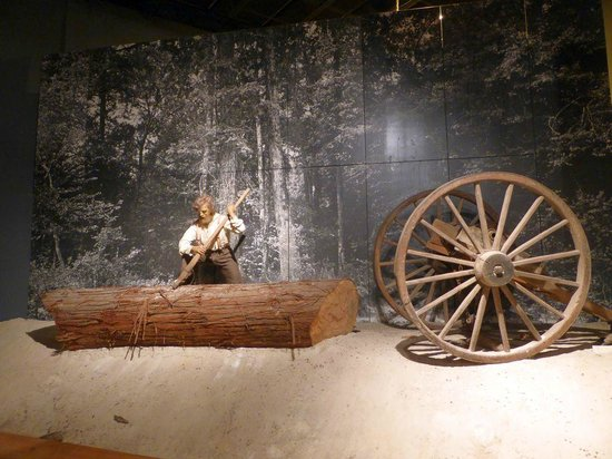 Mississippi Agricultural & Forestry Museum: Forestry