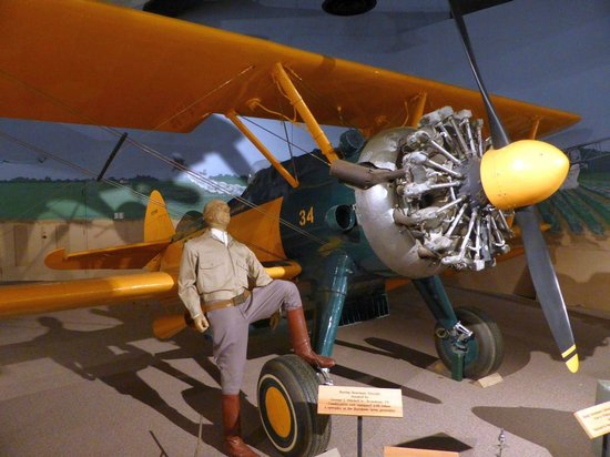 Mississippi Agricultural & Forestry Museum: Boeing-Stearman Aircraft