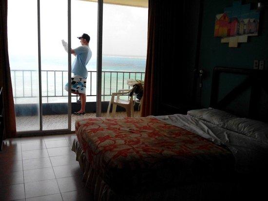 Hotel Tiuna: Hermosa habitación con vista al mar.