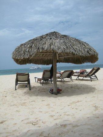 Secrets Royal Beach Punta Cana: Where we spend our days!