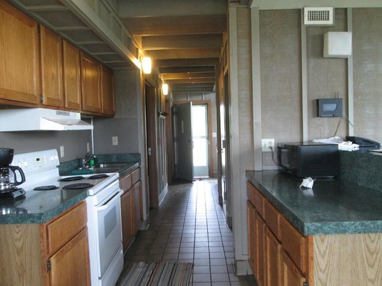 Kitchen Area Of Two Bedroom Cabin Picture Of Maumee Bay