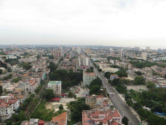 Tryp Habana Libre: Vista desde la habitación