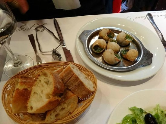 Les Jardins de Saint-Germain: 法式蝸牛,家常菜的精髓