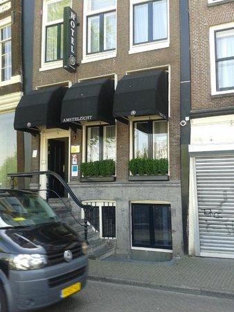 Hotel Amstelzicht : Fachada do Hotel
