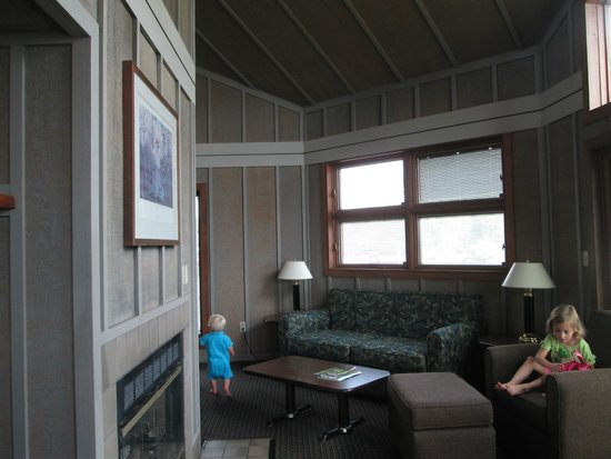 Family Room Of Two Bedroom Cabin Picture Of Maumee Bay