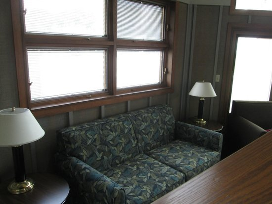 Family room of two bedroom cabin picture of maumee bay - 2 bedroom suites portland oregon ...