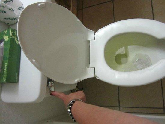 Super 8 Ankeny/Des Moines Area: Toilet doesn't flush