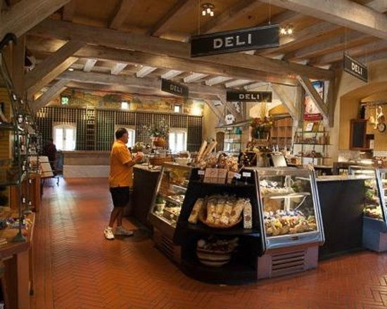 Viansa Winery and Italian Marketplace: Interior shot of building