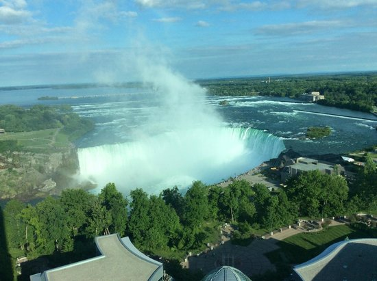 Fallsview Casino Resort: View from the room, 21st floor