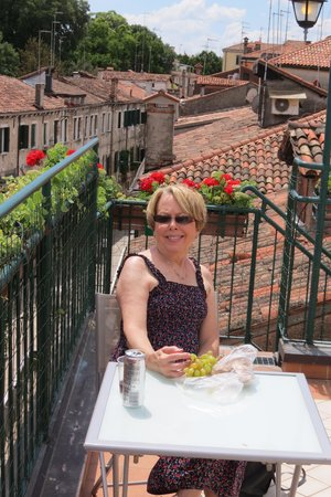 Hotel Hesperia : Rooftop lunch