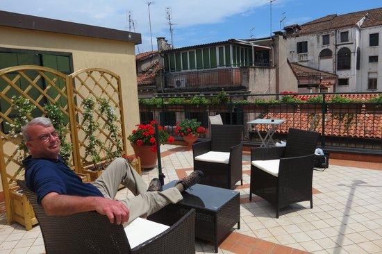 Hotel Hesperia : Rooftop