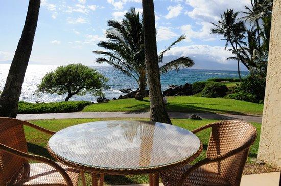 Wailea Beach Resort – Marriott, Maui: View from our oceanfront lanai