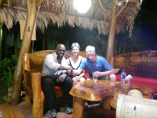 Hotel Blue Conga: Dinner with Johnothan
