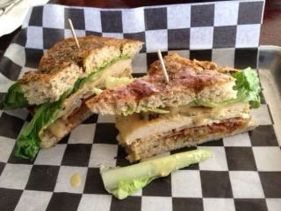 Bushfire Grill: Caesar Chicken Sandwich