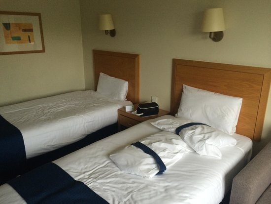 Holiday Inn Edinburgh: Beds