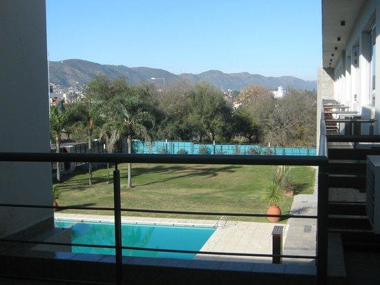 Altos del Valle: hermosa vista desde la habitacion
