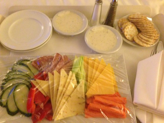 Tropicana Las Vegas - A DoubleTree by Hilton Hotel : My wife sent room service!  (Low carbs)