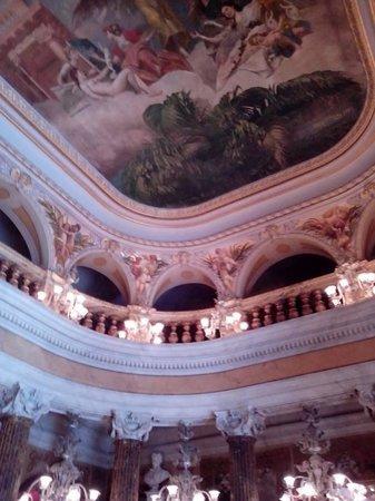 Teatro Amazonas: Teto de uma das salas do teatro
