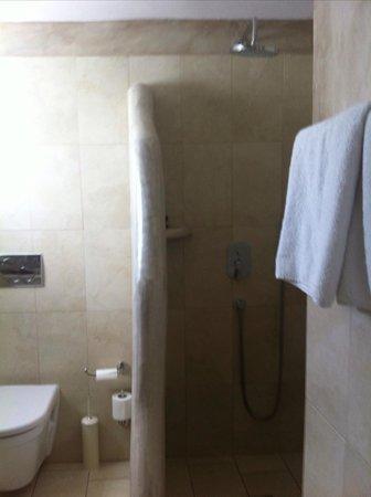 Hotel Carbonaki: Shower