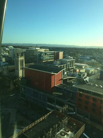 SKYCITY Grand Hotel: view from 17th floor