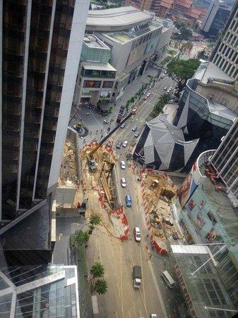 Grand Millennium Kuala Lumpur: construction site