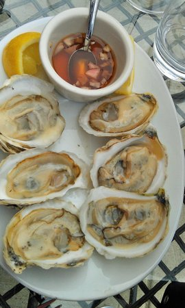 Rare Earth Wine Bar: Either Katama Bay Or Osterville Oysters
