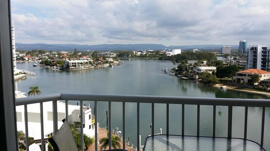 Moorings on Cavill Avenue: View from living room