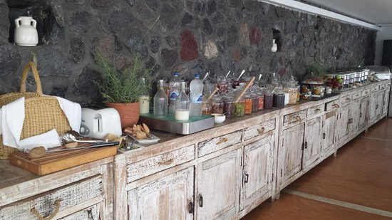 Rocabella Santorini Hotel & Spa: Breakfast
