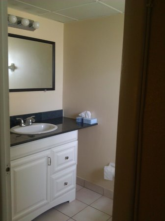 Clearwater Beach Hotel Suites: Bathroom vanity