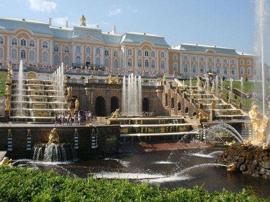 Express to Russia: Peterhof Fountains