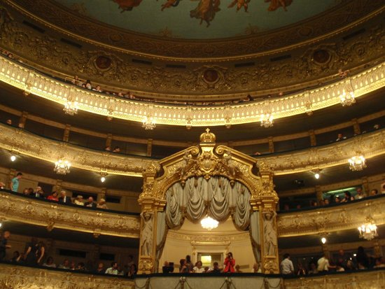 Express to Russia: Royal Box of Historic Mariinsky Theater