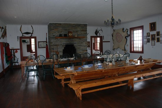 Grand Portage National Monument : Great Hall