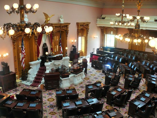The Ohio Statehouse Chamber