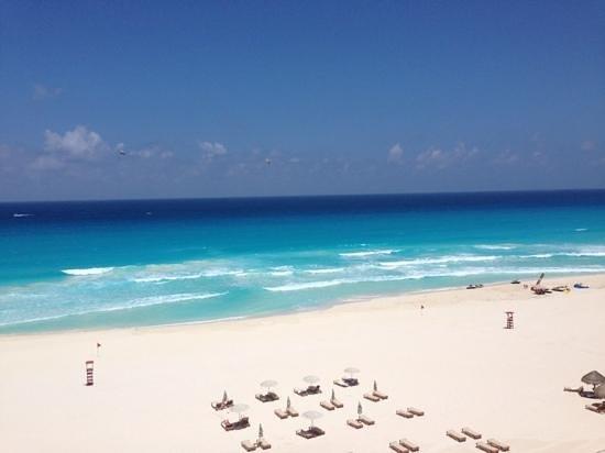 The Westin Lagunamar Ocean Resort: view from my balcony