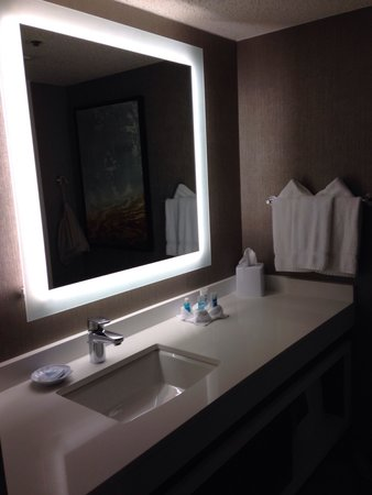 Wyndham Dallas Suites - Park Central : Nice bathroom