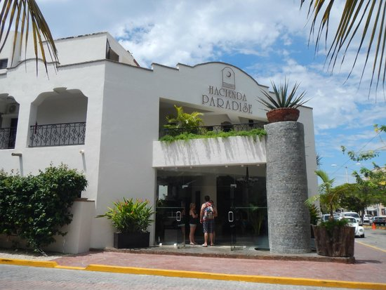 Hacienda Paradise Boutique Hotel by Xperience Hotels : front of hotel