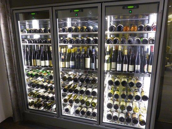 TIAN Experience Taste: Nice wine selection.