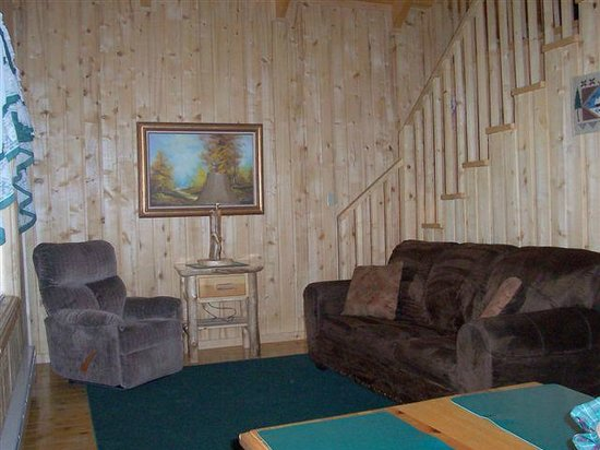 Blue Springs Lodge: Cabin 6 Living Room