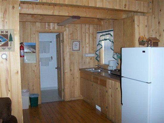 Blue Springs Lodge: Cabin 6 Kitchen