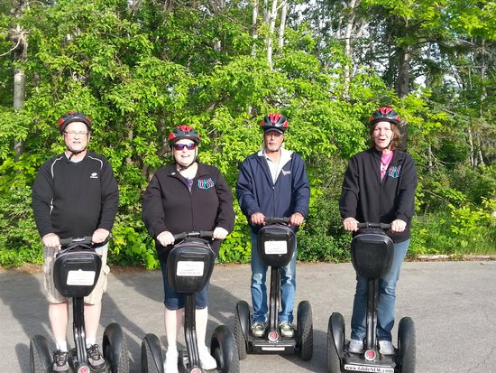 Glide N.E.W. LLC - Segway the Door Tours: Our first segway gang!