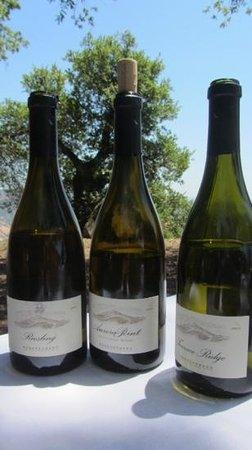 Stonestreet Winery: the whites...