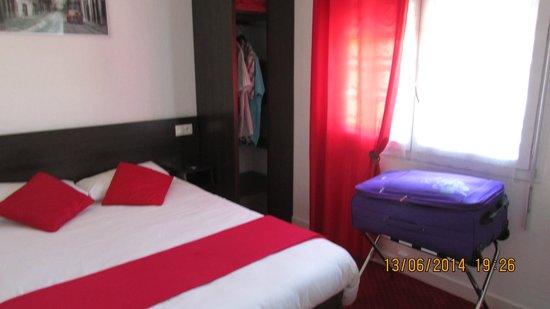 Hotel Les Atlantes: la chambre
