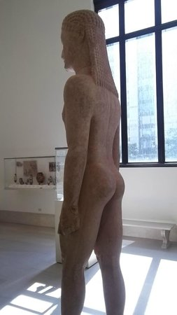 The Metropolitan Museum of Art: The Greek style of sculpture taken from the Egyptians