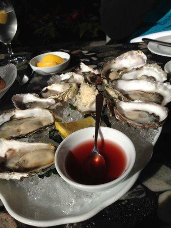 Araxi Restaurant + Oyster Bar: oysters