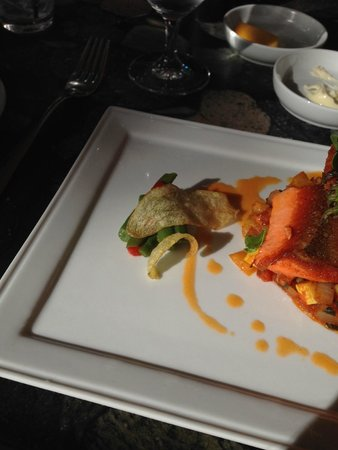 Araxi Restaurant & Oyster Bar : salmon