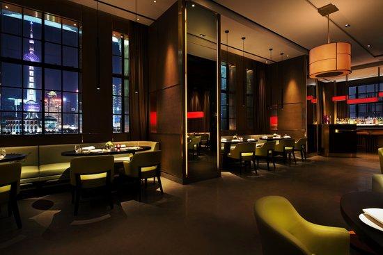 Resultado de imaxes para salón Ling Ling del restaurante Hakkasan Shanghái