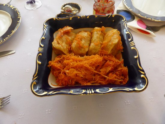 Culinary Hungary Home Cooking Class and Market Tour: Stuffed cabbage rolls with sauerkraut