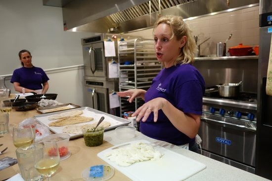 Langlois: Amy the Head Chef (and Jonie, the sous chef, on the side)