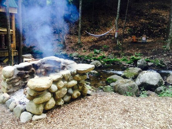 Orenda: Creek, fire, and hammocks