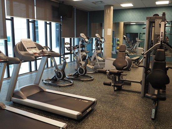 Hotel BLU: Fitness Room
